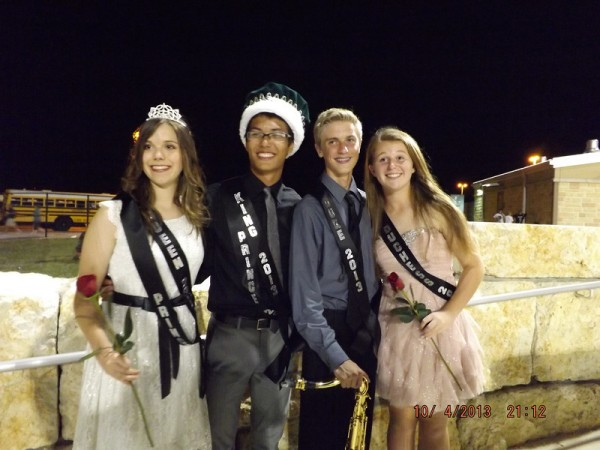 Homecoming royalty 2013