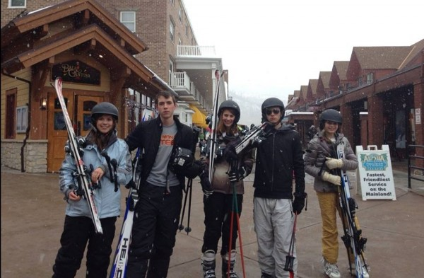 Skiing at Park City