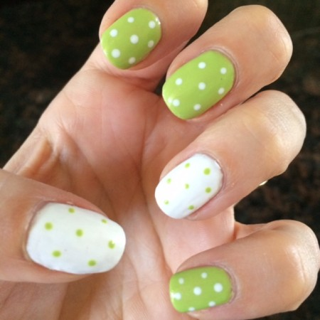 green dot manicure